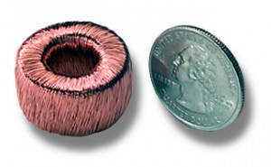 Toroidal inductors and Transformers