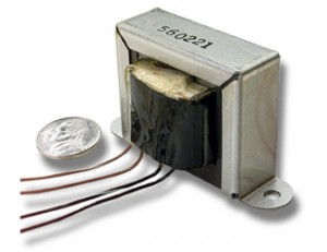 Low Profile Power Transformer